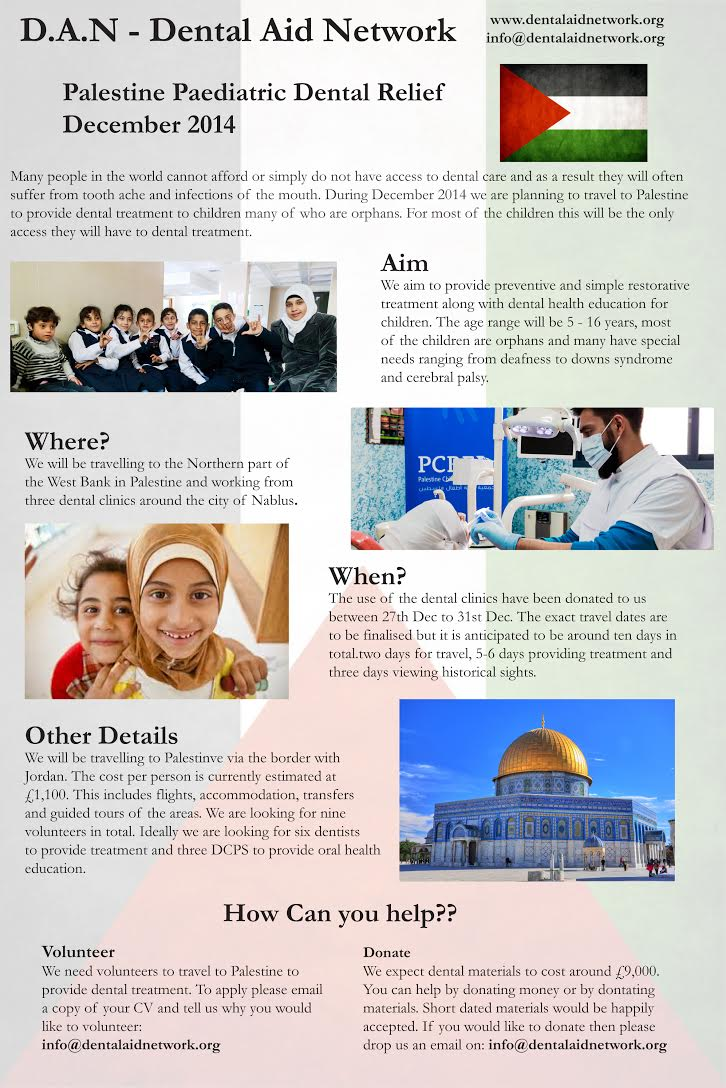 Palestins 2014 advert