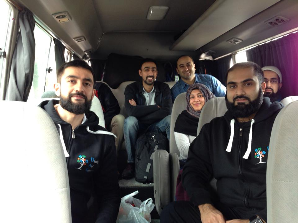 DAN team en route to Jerusalem